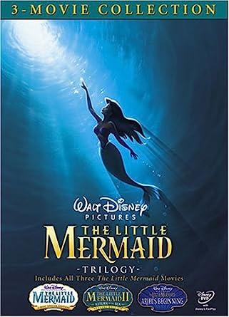 amazon com the little mermaid trilogy the little mermaid the