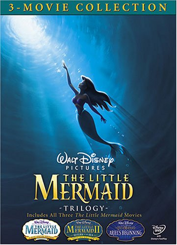 The Little Mermaid Trilogy (The Little Mermaid/The Little Mermaid II: Return to the Sea/The Little Mermaid: Ariel's Beginning) by WALT DISNEY VIDEO