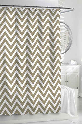 Kassatex Fine Linens CCV 115 LNW Chevron Shower Curtain Outlet