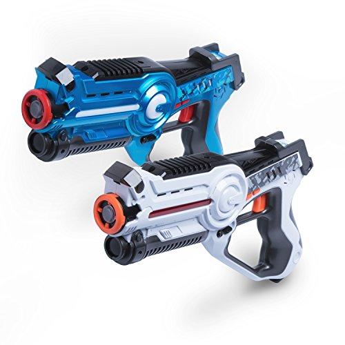 USA Toyz Laser Tag Sets - Space Blaster 2 Gun Laser Tag Game Laser Tag for Kids + No Laser Tag Vests Needed EZ Play Lazer Tag Gun Set