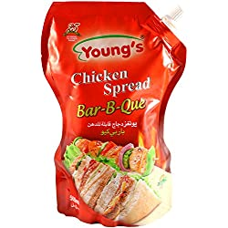 Young's Halal BBQ Chicken Spread Pouch – 500 ml