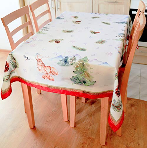 60x120 Kitchen Table Cloth Cover Dinner Restaurant Home,Bubble 140cm