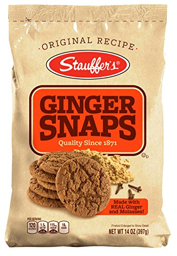 Stauffers Ginger Snaps Bag, 14-Ounce Bags (Pack of -