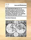 Lex Mercatoria Rediviv, Wyndham Beawes, 1171396449