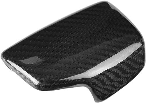 Dewin Audi S4 B9 Audi S5 B8 Carbon Auto Schaltknauf Kopfverkleidung Kompatibel Mit A4 S4 Rs4 B9 A5 S5 Rs5 Q5 Q7 Auto