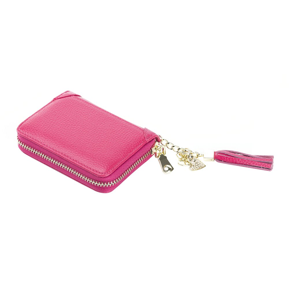 SYGY Women's Credit Card Holder purse (Red)