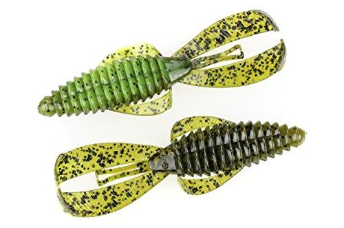 Strike King Rage Tail Bug Lure, Summer Craw, 4-Inch