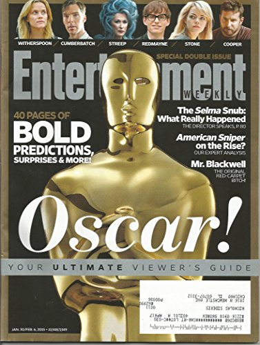 - Entertainment Weekly January 30 2015 Oscar/Academy Awards Viewer's Guide