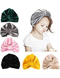 1a301a529fc Newborn Baby Cotton Cloth Turban Toddler Rabbit Hospital Hat Ear Hat Kids  Set Head Cap