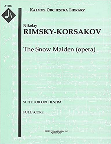 ZIP The Snow Maiden (opera) (Suite For Orchestra): Full Score [A1918]. helps change cancion thick count 51D9qB1d39L._SX381_BO1,204,203,200_