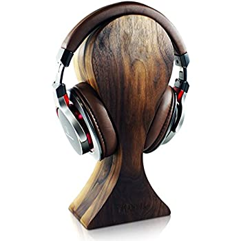 Amazon.com: COSMOS Universal Wooden Dual Headphone Stand