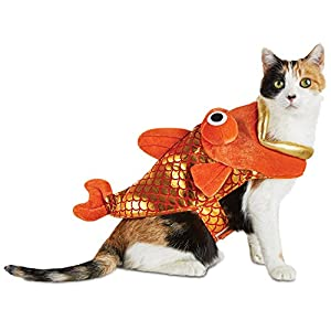 Halloween Bootique Fish Bait Cat Costume, One Size, One Size Fits All