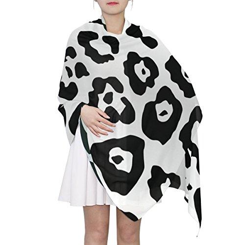(Women's Scarf Silk Scarf Blanket Lightweight Neck Scarf with Animals Skin Texture Shawl Wrap 70