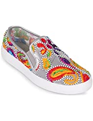 Wanted Renoir Embroidery Slip On Fashion Sneaker