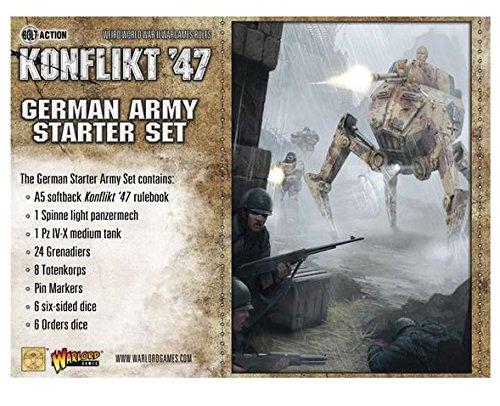 Konflikt '47: German Starter Set by Warlord Games