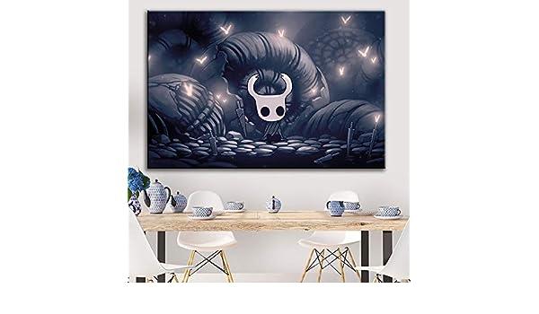 mmzki Juego Pintura al óleo Dibujos Animados Pintura al óleo Caballero Pintura al óleo Cartel Pintura Decorativa Mapa HD Pintura al óleo Cartel Arte de la Pared Lienzo E: Amazon.es: Hogar