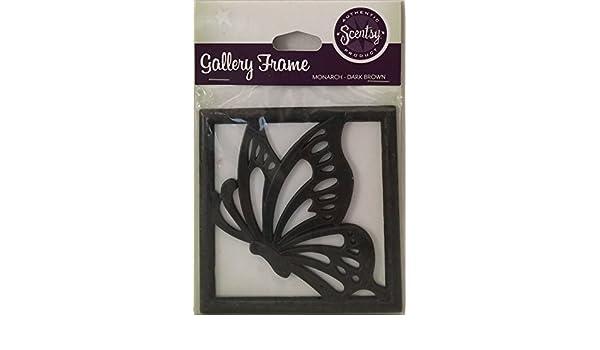 Amazon.com: Scentsy Gallery Frame Monarch Dark Brown Butterfly Rare ...