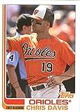 2017 Topps Archives #196 Chris Davis Baltimore Orioles Baseball Card