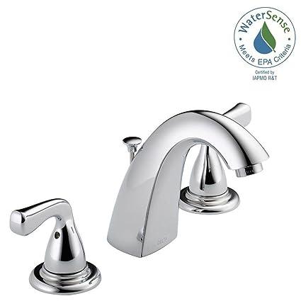 Delta Foundations 8 In Widespread 2 Handle Bathroom Faucet In