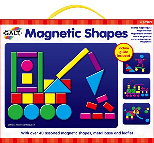 Galt Toys Play and Learn Magnetic (Educational Insights Shapes)