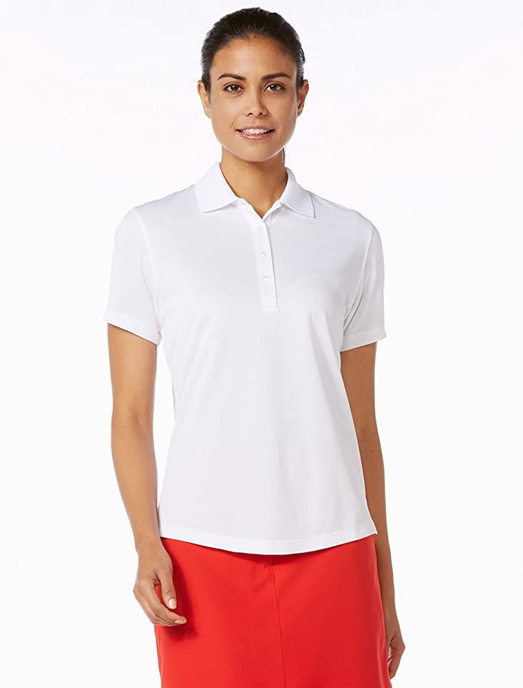 Callaway Womens Short Sleeve Opti-Dri Textured Performance Polo