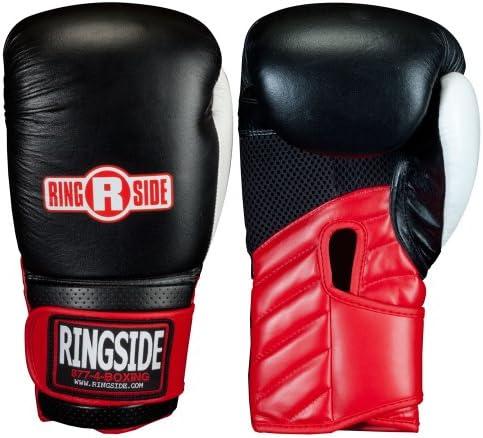 Ringside Pro Fitness Boxing Gloves Adult Red Sparring Gloves 10oz 12oz 14oz 16oz