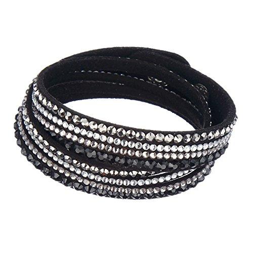 Genuine Black Leather Wrap - 2