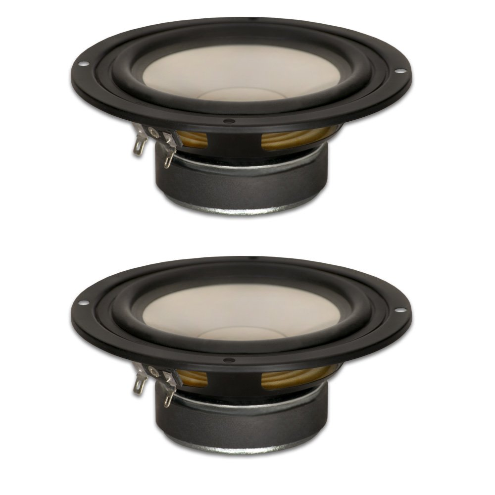 Goldwood Sound, Inc. Stage Subwoofer, Poly Cone 5.25'' Woofers 130 Watts each 8ohm Replacement 2 Speaker Set (GW-S525/8-2) by Goldwood Sound, Inc.