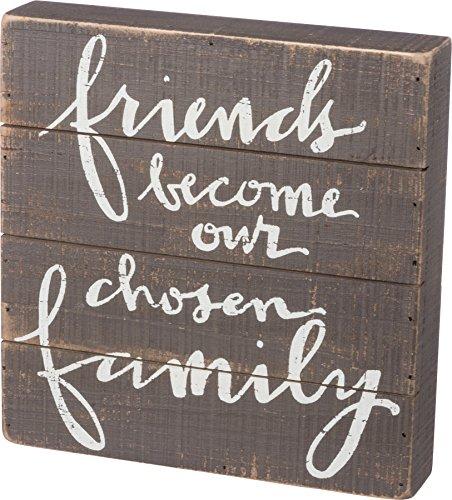 hosen Family Slat Sign Primitives by Kathy ()