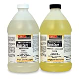 System Three 1000K24 Amber Quick Cure 5 Kit, 1 gal Bottle