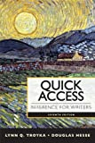 Quick Access Reference for Writers with MyWritingLab with EText -- Access Card Package, Troyka, Lynn Q. and Hesse, Doug, 0133892808