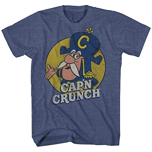 Cap'n Crunch Breakfast Cereal Original Logo Funny Adult