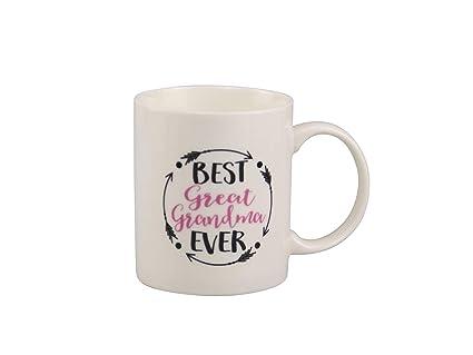 d9ca5b79f43 Amazon.com: Great Grandma Gifts Best Great Grandma Ever Coffee Mug ...