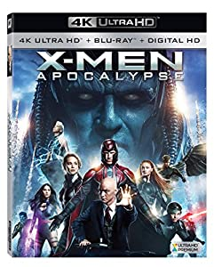Cover Image for 'X-men: Apocalypse [4K Ultra HD + Blu-ray + Digital HD]'