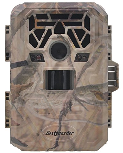 "XIKEZAN No Glow HD Trail & Game Camera 1080P 12MP Motion Activated Wildlife Hunting Cameras with 2.0"" LCD Screen Infrared Night Vision Trail Cam Bestguarder 1 Year Warranty"