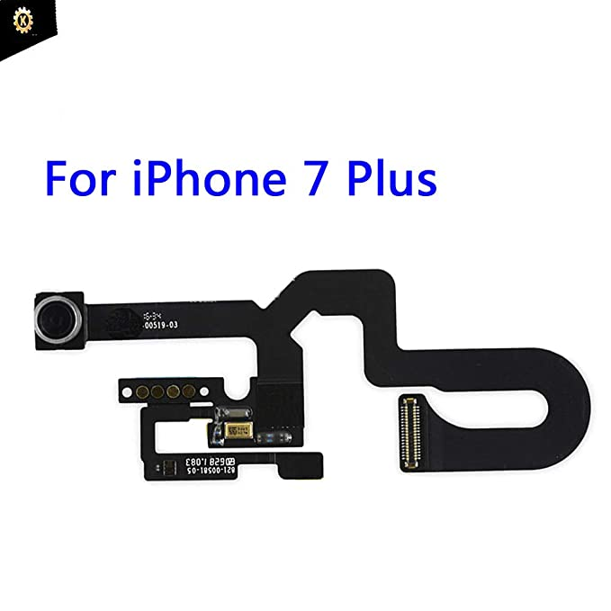 huge discount 42ce7 897ef Kakusiga Compatible with iPhone 7 Plus OEM Face Front Camera Flex Cable  with Sensor Proximity+ Microphone Flex Cable Replacement for 7 Plus 5.5