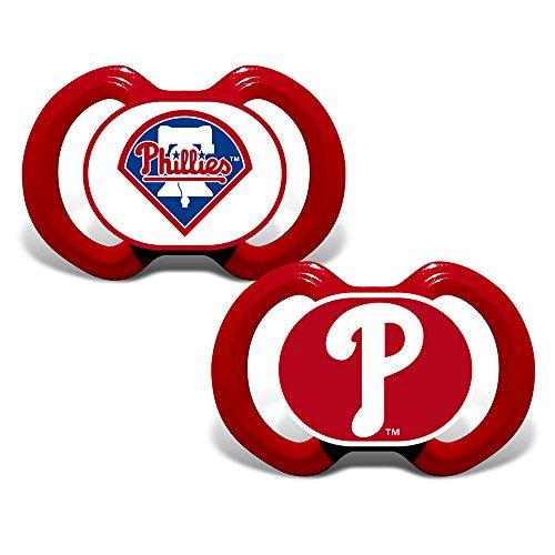 Baby Fanatic 2-Piece Gen. 3000 Pacifier, Philadelphia Phillies