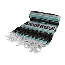 Mexican Blanket (Light Blue)