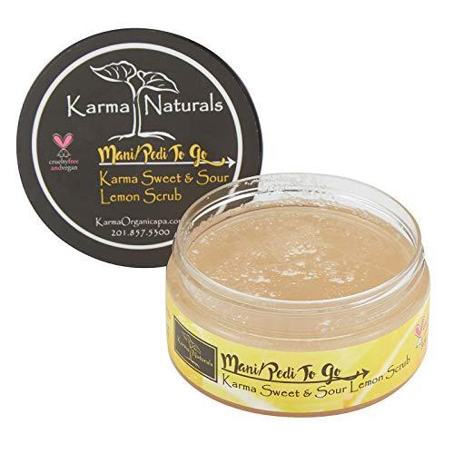 Karma Organic Natural Lemon Scrub – Essential oils for flawless, Glowing and Balanced Skin Complexion