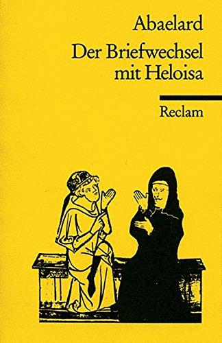 Abaelard  Der Briefwechsel Mit Heloisa