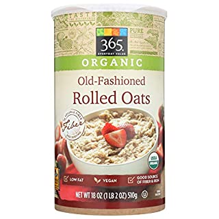 365 Everyday Value, Organic Old-Fashioned Rolled Oats, 18 oz