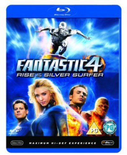 Blu-ray : Fantastic Four 2-rise Of The Silver Surfer (Blu-ray)