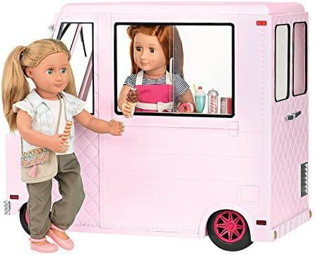 "4 Ice Cream Cones Doll Food 18/"" American Girl Dolls 4 Yogurt Berry Bowls"