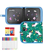 Erasable Doodle Books for Kids, Double-Sided Kids' Drawing Writing Boards, Portable Travel Toys Early Learning Drawing Pad Educational Toys Gifts for 3-8 Year Old Boys Girls