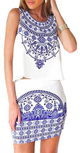 Buy dress with a flounce skirt - 2