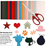 20 Pieces Nylon Repair Patches Colorful