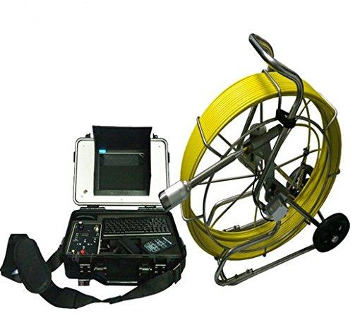 防水ビデオ下水管検査カメラwith 120 M Snakeケーブルと50 mm CCDカメラヘッド   B06XP25C4W