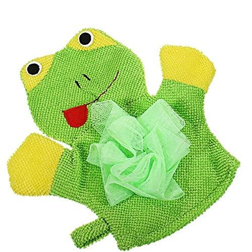 Vivona - Toalla de baño para niños y bebés, 4 colores, diseño de animales, Verde