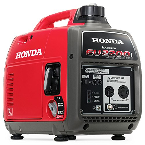Honda EU2200i 2200W 120-Volt Portable Inverter Generator with Companion and Parallel Cables by Honda (Image #2)