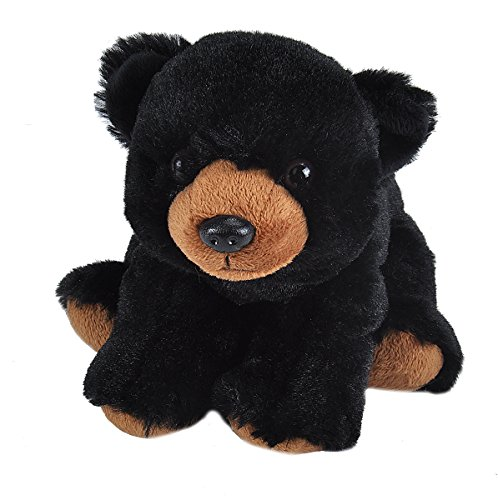 (Wild Republic Black Bear Plush, Stuffed Animal, Plush Toy, Gifts for Kids, Cuddlekins)